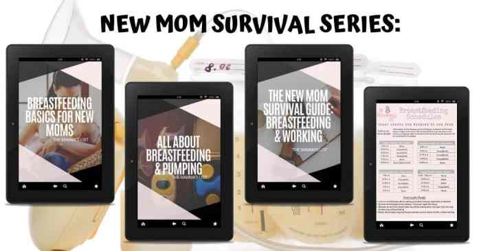 new moms survival series