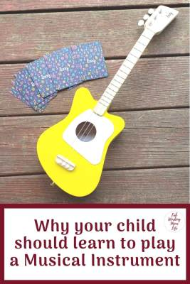 Reasons why your child should learn to play a Musical Instrument | Fab Working Mom Life #parenting #musicalinstrument #steam #educationaltoys #giftideas #giftguide #giftsforkids