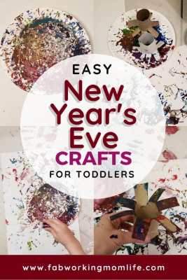 easy new years eve crafts for toddlers
