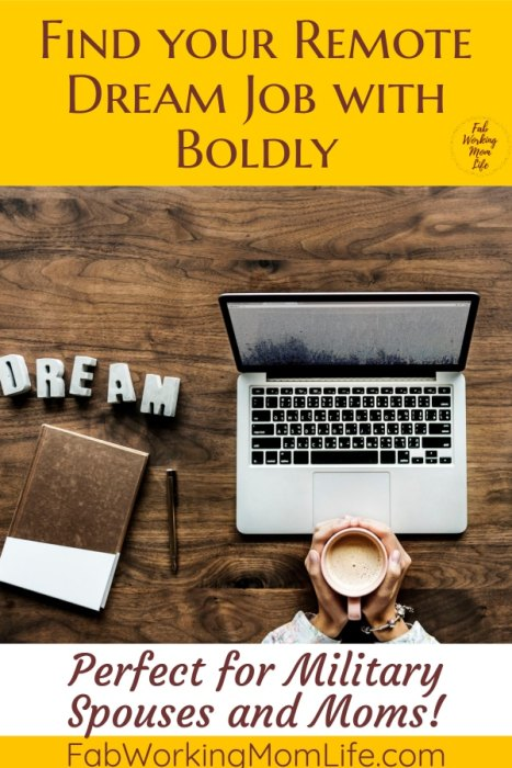 find your remote dream job with boldly