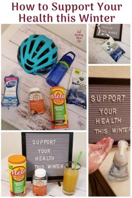 What are some ways you proactively support your health? Here are some easy ideas to help you keep your family healthy this winter season!
