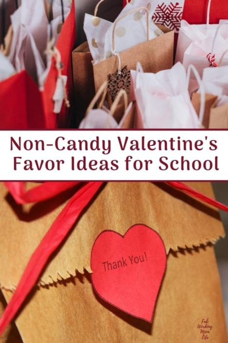 Non-Candy Valentine's Day Ideas for School