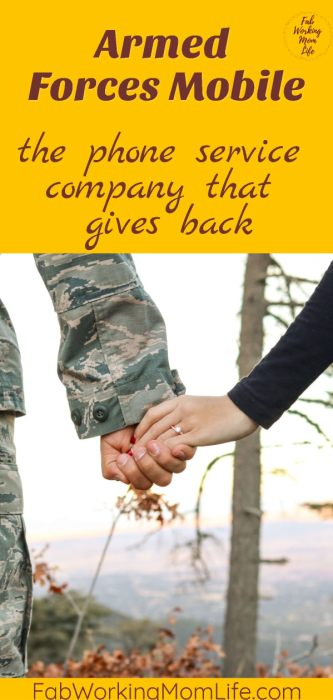 Armed Forces Mobile, the phone services company that gives back.