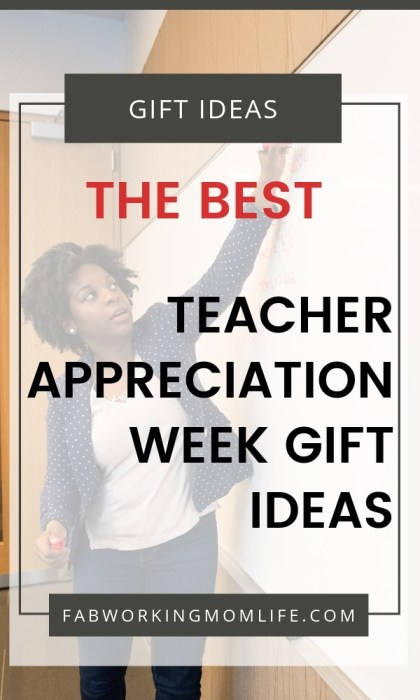 best teacher appreciation week gift ideas