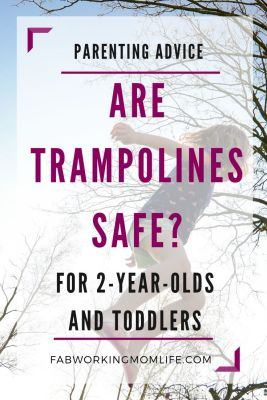 Are Trampolines Safe for 2 years old and toddlers