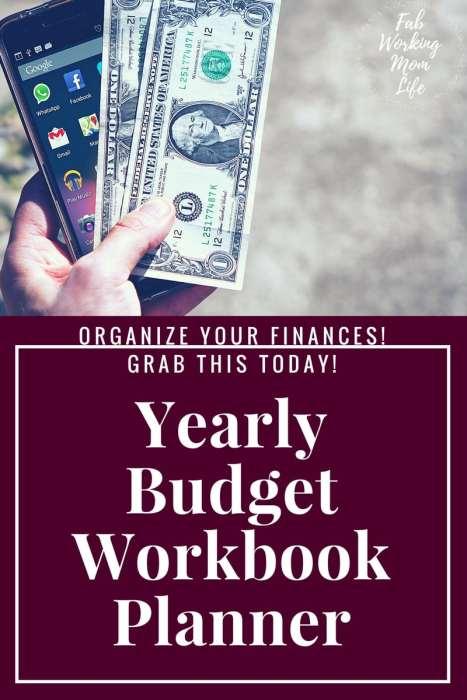 Yearly Budget Workbook Planner