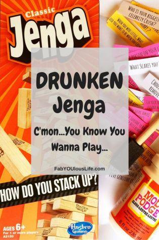 Drunken Jenga
