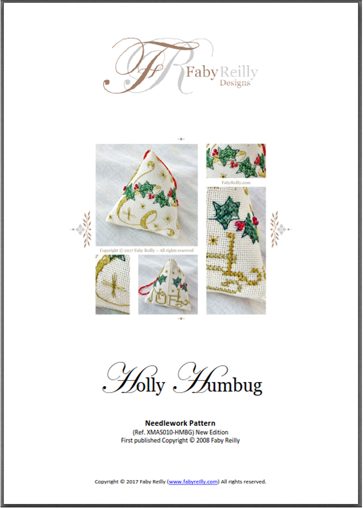 Chart Cover (Holly Humbug) - Faby Reilly designs