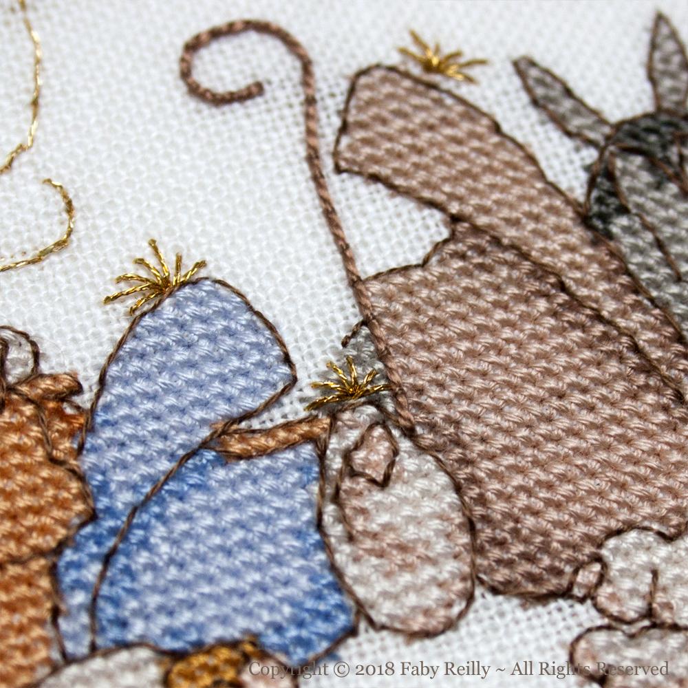 Nativity Frame – Faby Reilly Designs