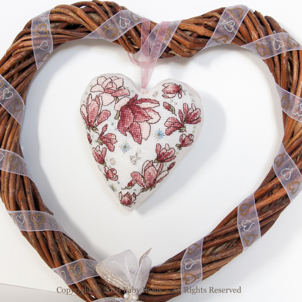 Magnolia Heart – Faby Reilly Designs