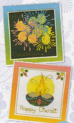 Diwali Cards for Crazy