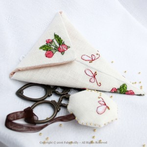 Apple Blossom Scissor Case