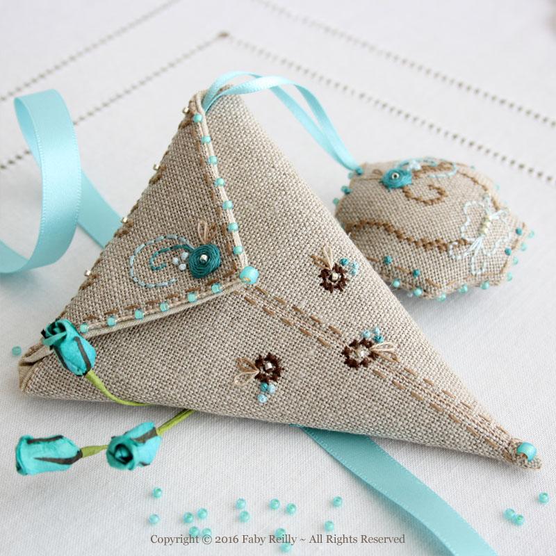 Butterfly Scissor Case - Faby Reilly Designs