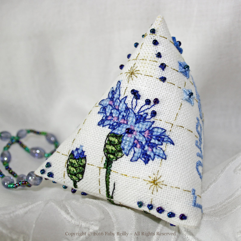 Cornflower Humbug - Faby Reilly Designs
