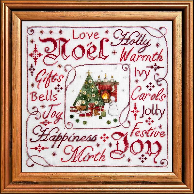 Victorian Christmas Frame