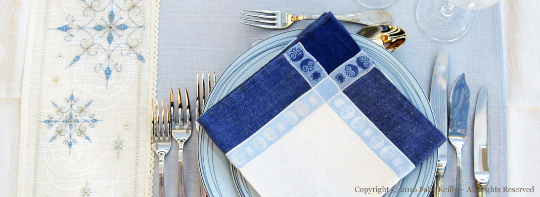 Frosty Tablemat
