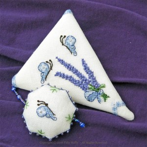 Lavender Scissor Case - Faby Reilly Designs