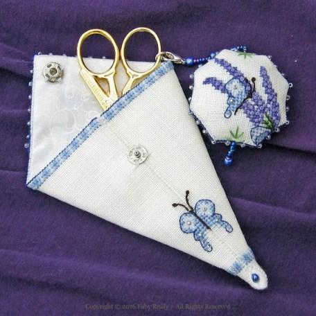 Lavender Scissor Case – Faby Reilly Designs