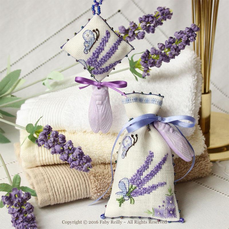 Lavender Sachet - Faby Reilly Designs