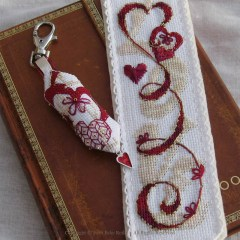 Love Bookmark - Faby Reilly Designs