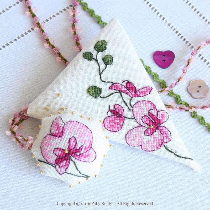 Plum Orchid Scissor Case - Faby Reilly Desgins