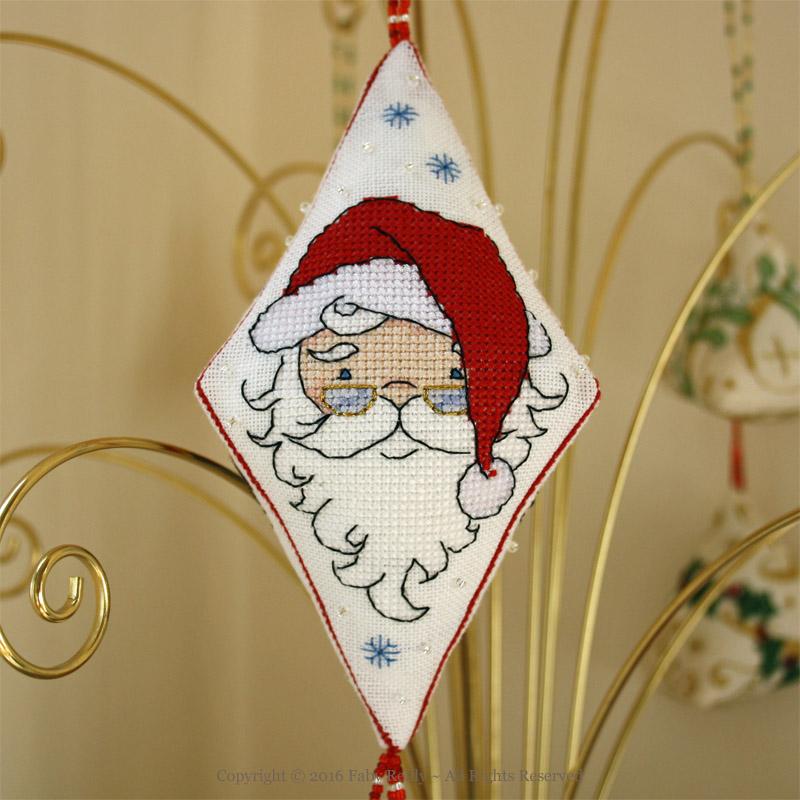 Papa Noël Pendant