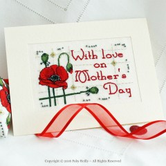 Poppy Card - Faby Reilly Designs
