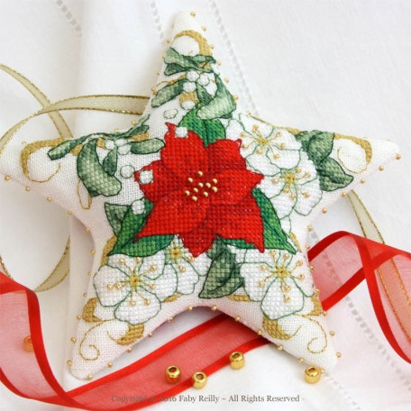 Poinsettia Star - Faby Reilly Designs