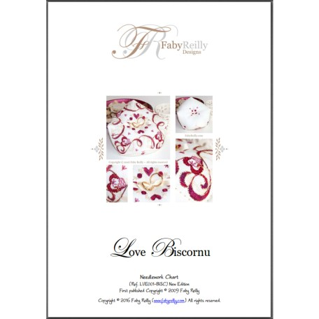 Love Biscornu – Faby Reilly Designs