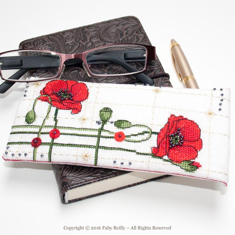 Poppy Glasses Case