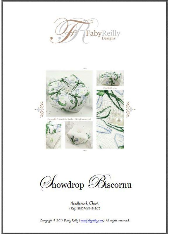 Snowdrop Biscornu