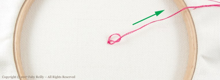 Stop a stitch Tutorial - Faby Reilly Designs