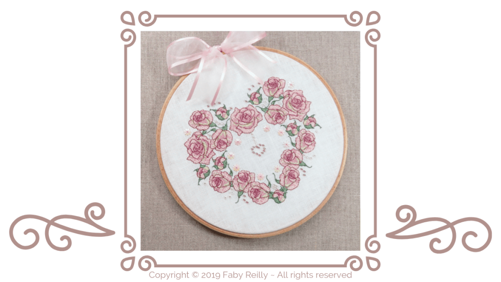 Hoop Finish Tutorial Header - Faby Reilly Designs