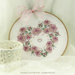Once Upon a Rose Heart in a Hoop