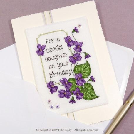 Violet Card