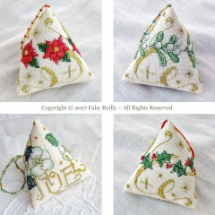 Sparkly Christmas Humbugs - Faby Reilly Designs