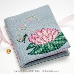 Pink Lotus Needlebook - Faby Reilly Designs