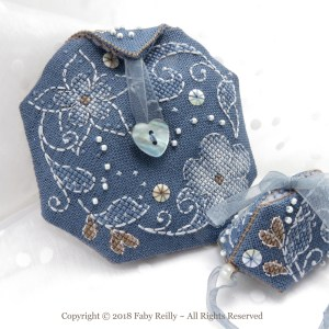 Flora Pouch - Faby Reilly Designs