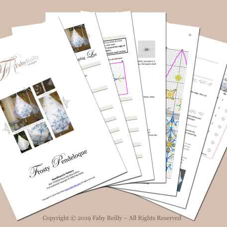 Frosty Pendeloque – Faby Reilly Designs
