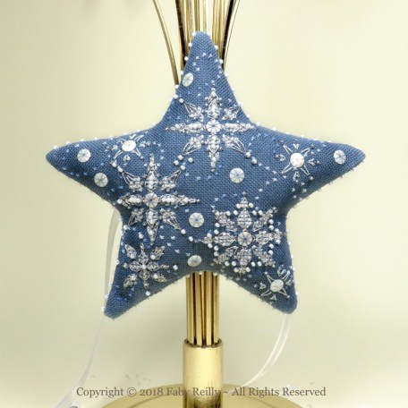 Let it Snow Star – Faby Reilly Designs