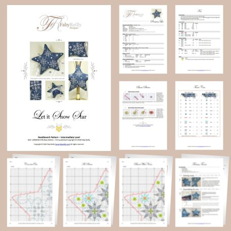 Let it Snow Star Sample Pages