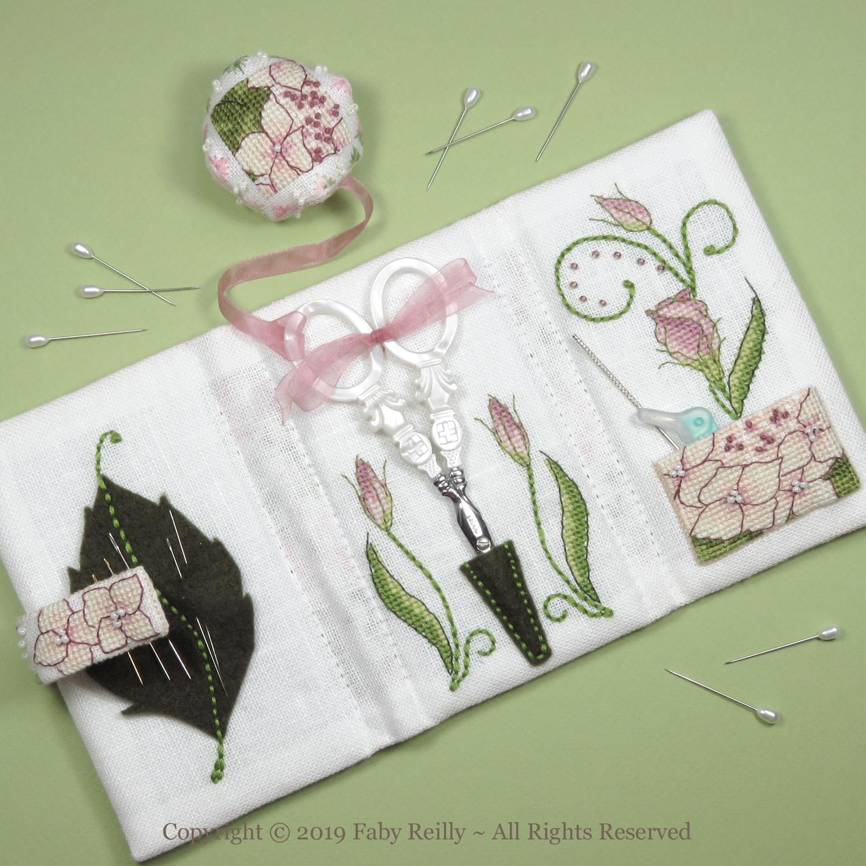 Lizzie Stitching Wallet - Faby Reilly Designs