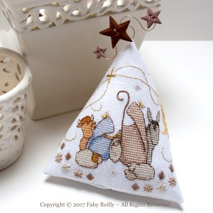 Nativity Humbug - Faby Reilly Designs