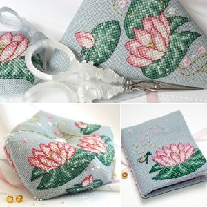 Pink Lotus Stitching Set