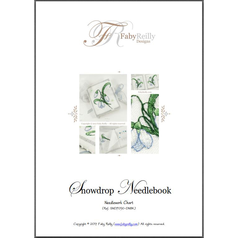 Snowdrop Needlebook – Faby Reilly Designs