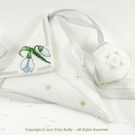 Snowdrop Scissor Case – Faby Reilly Designs