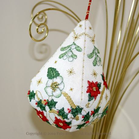 Sparkly Christmas Pendeloque - Faby Reilly Designs