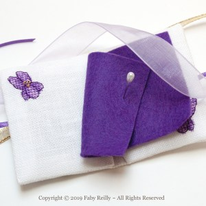 Violet Needlebook - Faby Reilly Designs