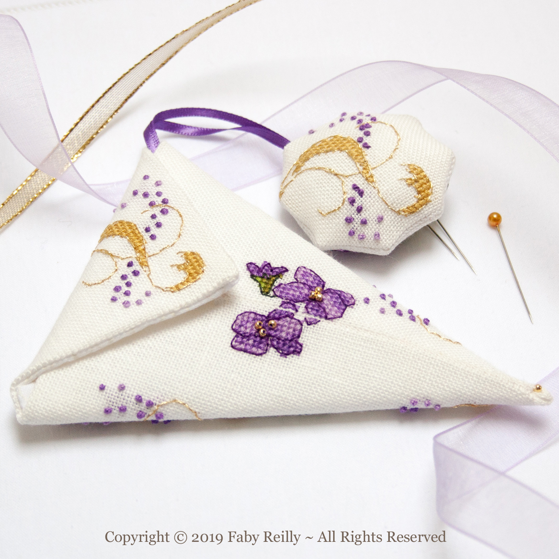 Violet Scissor Case - Faby Reilly Designs