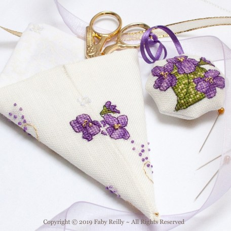 Violet Scissor Case – Faby Reilly Designs